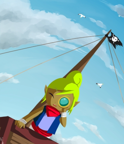 Tetra! ( legend of zelda )....and Jack sparrow, of course :3