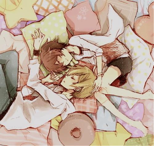 masaomi and saki :'D i hope this is okay ^^