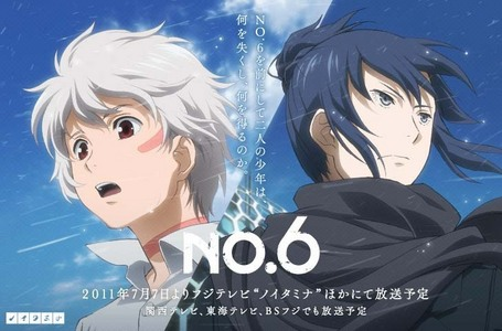 Sion and Nezumi..hehhe from No 6