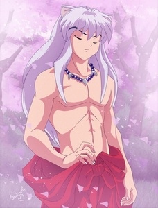 My first crush was InuYasha from InuYasha ._.