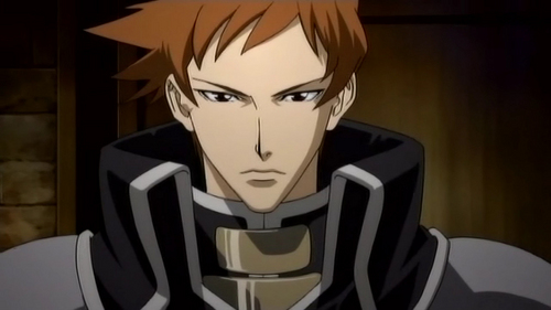 Tres Iqus - Trinity Blood my 1st crush, he's an android :)