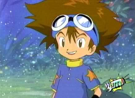 My first crush was Taichi from Digimon! <3