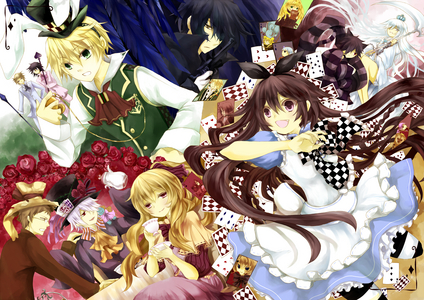 i can't coose between Vampire knight and Pandora hearts! there both really great 日本动漫 series!!