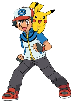 yes,when i saw my very first anime,my crush was on the main character when i was 5.....thats right,ASH KETCHUM!!!!