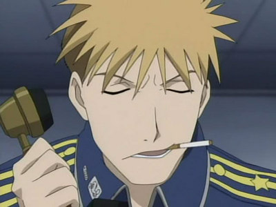 Although its not always, 更多 often than not he has a cigarette in his mouth. Jean Havoc from fullmetal alchemist