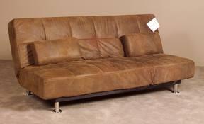 Futon(very comfortable!) Kinda like this one!↓
