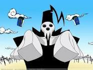Lord Death (Shinigami-sama) from Soul Eater. He just seems like an amazing dad. :D