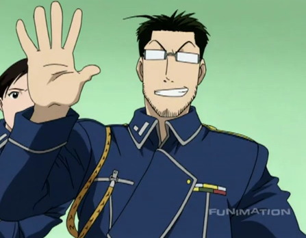 Hmm..I would definitely Любовь to have Maes Hughes from Fullmetal Alchemist as a father! That would be amazing because he's caring individual, he takes pride in his family,he's a fun guy to be around..but I wonder if knows about baseball..hmm..XD