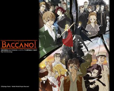 1. Baccano! 2. Death Note
