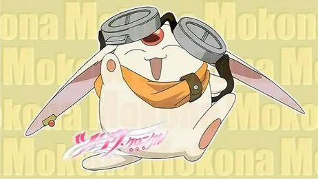 ....... This is who came up, I have no idea why. Mokona!