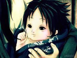 ahhh baby Sasuke..lol