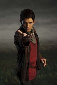 "Merlin (Colin Morgan) from BBC's series ""Merlin"" Superpowers: Magic, Dragonlord ^w^"