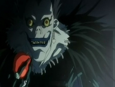 Hmm..Maybe Ryuk from Death Note even though he's still an amazing character! which proves looks aren't everything :p