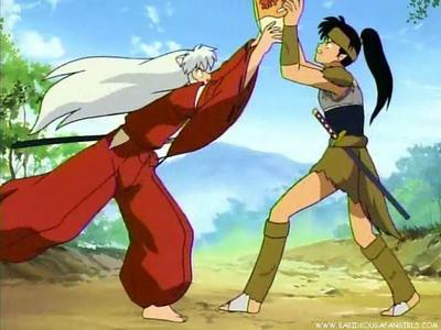 inuyasha and Koga! :3