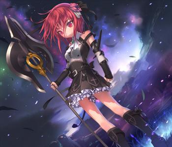 A cool anime girl ♥