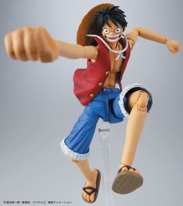 I have this version of Luffy. But I'm still waiting for my [i]Bandai One Piece Model Kit Thousand Sunny New World Version[/i] Can't wait to get it