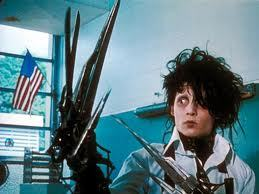 It was Edward Scissorhand...and it was a long time ago...I was 8 years old.