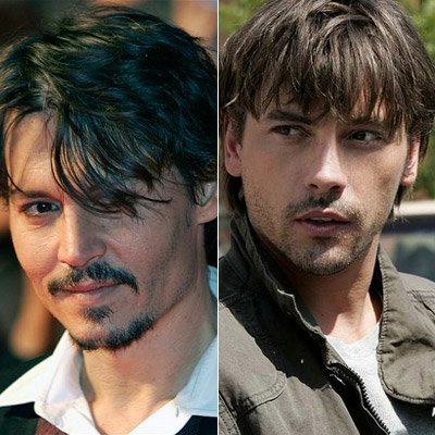 It could be...Skeet Ulrich ('Jericho').. but of course there's noone like him