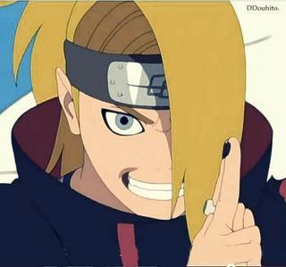 Oh god definitely Deidara! (Naruto Shippuden) I 愛 him to bits man!