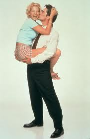 Not obsessed but I love Dharma & Greg. Such a healthy couple.