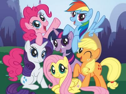 MLP: FIM because it's 20% alat pendingin, pendingin than other show(besides Glee).
