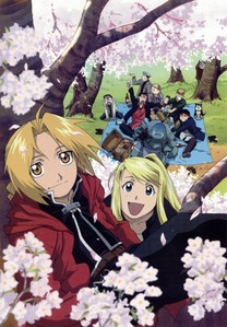 Full Metal Alchemist. Because it's beautiful, mature, dark and amazing!