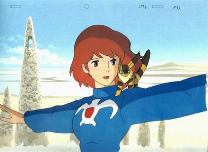 Disney did the dubs for Studio Ghibili films I like all the shows but I'm only going to post one character. Nausicaa