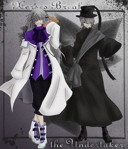 There's no denying it... these two are both epic!!!!!! XD Kuroshituji & Pandora Hearts crossover with Xerxes Break and the Undertaker