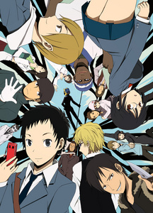 durarara!! When r they gonna give Celty's head back o when is she gonna get it back after looking 4 it all this time !!! and the very ending nvr resolved that and thats what she had been looking 4 since the beginning and yet everyone still lives happily ever after. (her head's still sitting/floating in a small big container behind some bookshelf kept away from her! And 4 no freakin good reason!)
