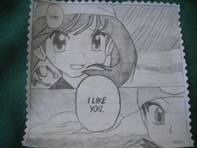 Here's mine! I got lots más on http://sapphirerose-chan.deviantart.com/ (It's Ruby (the guy) and Sapphire (the girl) from Pokemon Adventures manga)