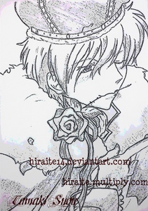 i dont know which is my best drawing but among my deviantART submittions this sketch got most favorites. maybe bacause of tamaki? tu can check out my dA gallery is tu think this is not my best. :3 http://hiraite14.deviantart.com/ http://hiraite14.deviantart.com/gallery/ TITLE: King Tamaki