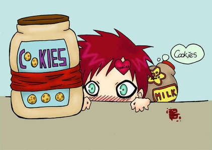 I've got Gaara ^_^ and he wants some 饼干 ;)