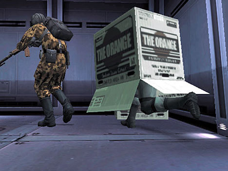 [i][b]Are we talking about the badass snake that hides in a cardboard box?[/b][/i]
