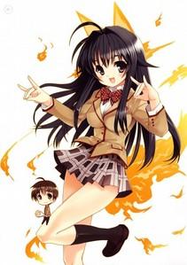 Ah, Chizuru<3 ^^ She's just like Miss. Reibu ^w^