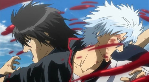 This scene is from gintama <3