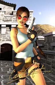 [b][i]Lara Croft.[/b][/i]