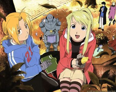 I recommend <u>Fullmetal Alchemist!</u> It's a really great action anime!