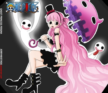 PERONA!!!!!!!!!!!!!!!!!!!!!!!!!!!! she's sooooo cute i would get fashion Guter Rat from her, she's from one piece BTW