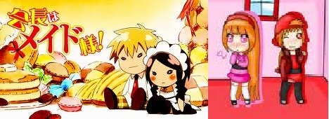 my favorito! couples from different animes takumi and misaki from maid sama and =brick and momoko from ppgz ther total cuties>3333333333333333