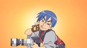 Konat-wait,short hair?;3; Alright,Konata's [i]father[/i],Sojiro Izumi.BD