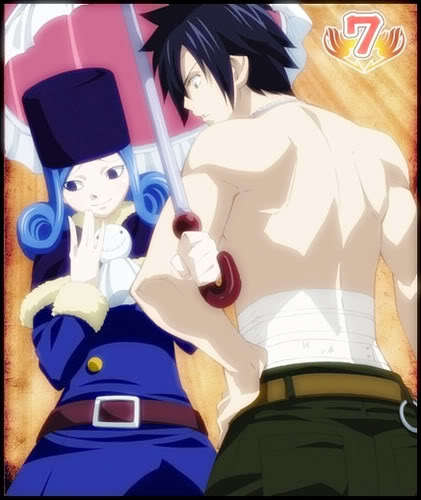 Juvia and Gray from Fairy Tail