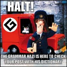 *Hi what are te doing today? I am correcting your grammar.