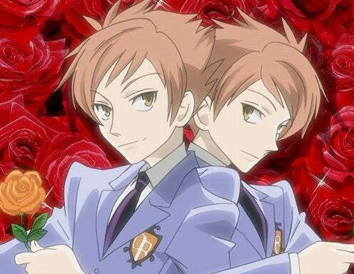 I'm gonna put the twins from Ouran because i've never done them before Xd