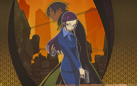 i thought Hei & Kirihara from Darker Than Black, woulda made an awesome couple