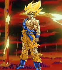 Not enough DBZ in here.....Goku has the win for looking badass!!