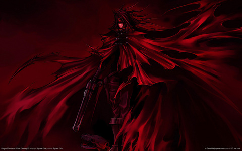 I think Vincent Valentine has an awesome outfit