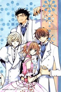 CLAMP is really good at the clothes Tsubasa Reservoir Chronicles Kurogane, Syaoran, Sakura and Fai