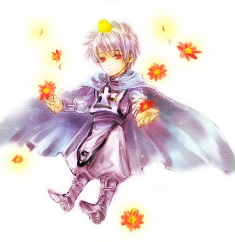Of course that would be the epic Prussia, at a younger age!