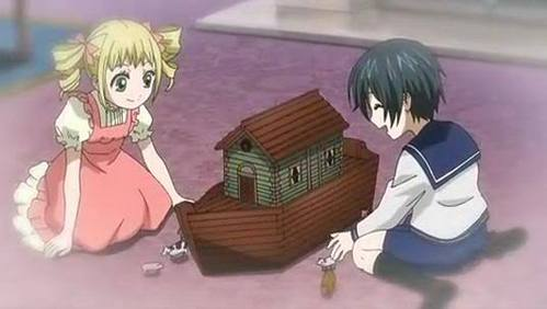 Ciel and Elizabeth when they were young!!!