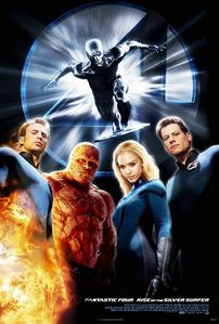 Fantastic Four: Rise of the Silver Surfer. Totally worth my time. Even though the Silfer Surfer mainly 偷了 the 显示 and the Four were no match for Galactus in the finale. Rise of the Silver Surfer was what a superhero movie was supposed to be, IMO. Flashy, goofy, and pure fun. And still, the official reviewers kept whining about it.